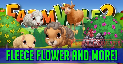 Farmville 2 Fleece Flower and More!