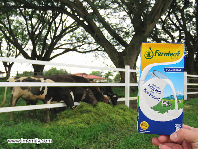 Fernleaf UHT Milk is 100% Mmmmm