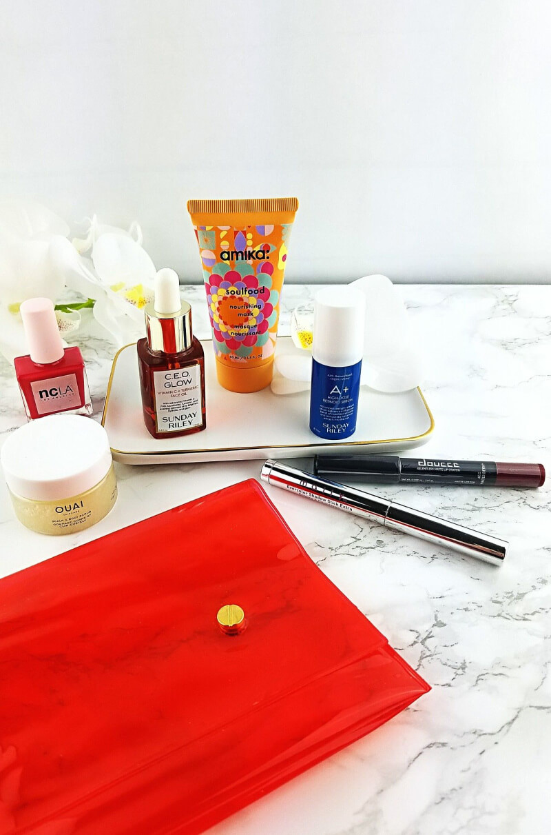 Unboxing my January Allure Beauty Box | Featuring Sunday Riley, Amika, Ouai and More 1