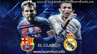 مشاهدة مباراة ريال مدريد و برشلونة مباشر كلاسيكو الأرض - الدوري الإسباني