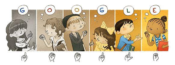 charles michele google doodle