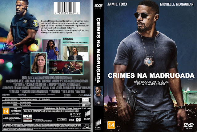 Capa DVD Crimes na Madrugada [Custom]