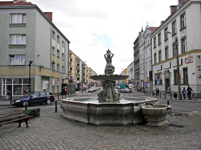 opolskie, Nysa, rzeźba, budynki, ulice