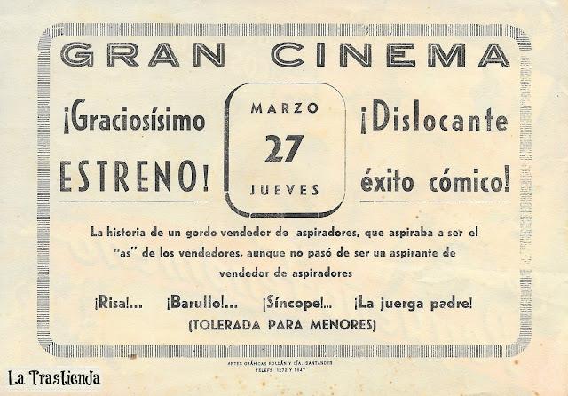 Programa de Cine - El Pequeño Fenómeno - Bud Abbott - Lou Costello