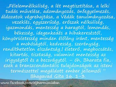 #idézet #bg #bhagavadgíta #gíta #jóga #jógaidézet #beszéd #elme #jószándék #rosszindulat #istzeni #transzcendentális #jellemvonások #természet #tulajdonságok