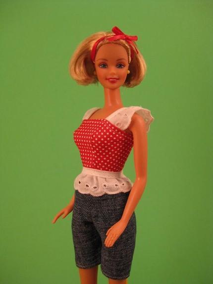Como hacer vestidos para barbie