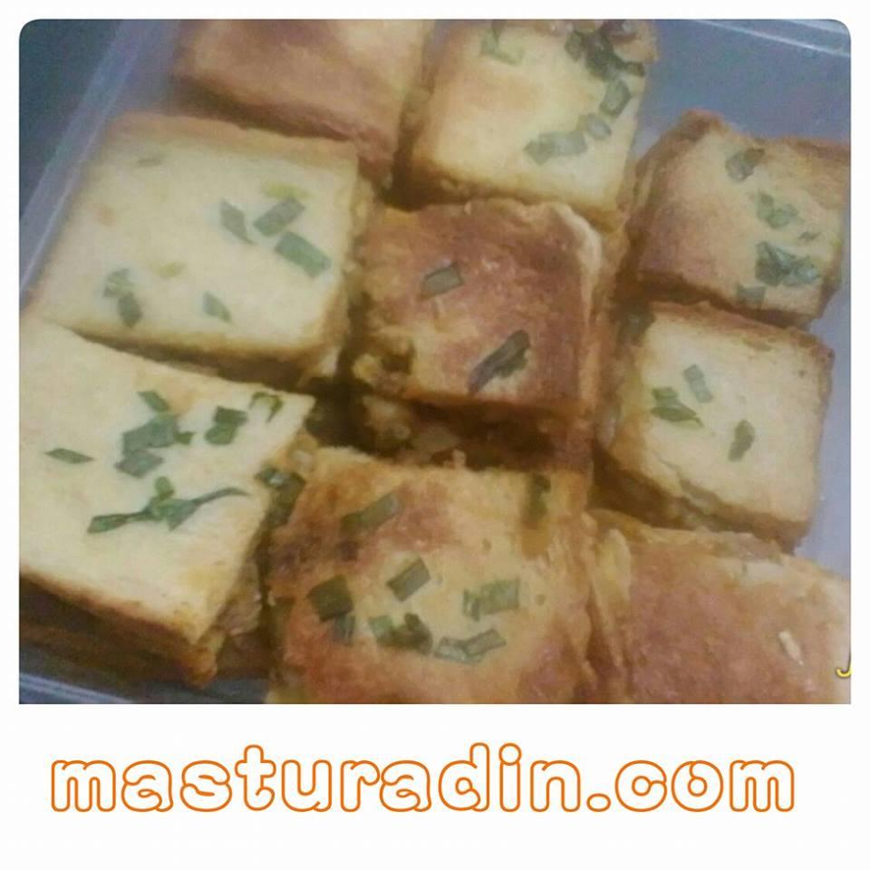resepi murtabak roti daging, resepi menggunakan roti, cara-cara membuat murtabak daging