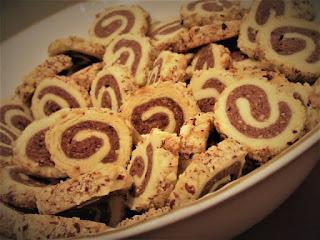 Hazelnut rolls