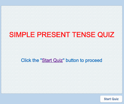 English Language Resources Simple Present Tense Worksheet