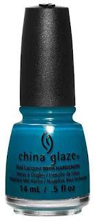 China Glaze esmalte azul