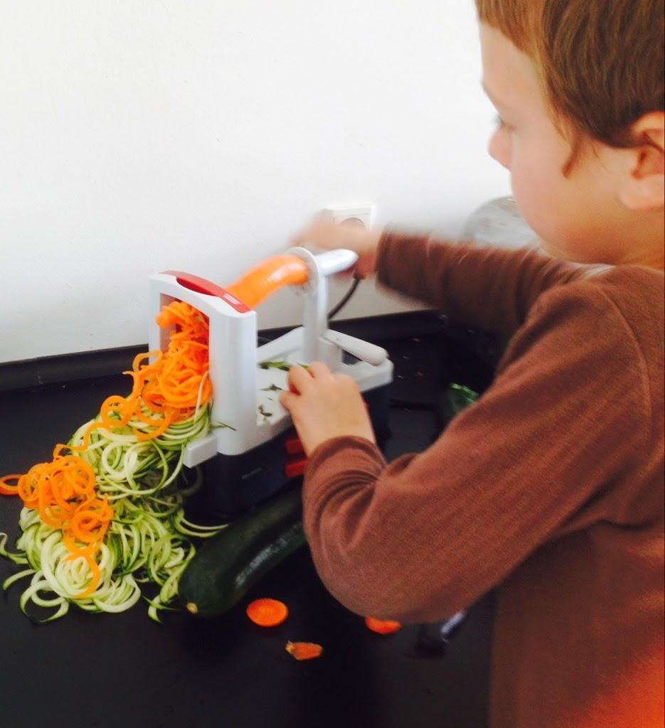 Maskine til grøntsagspasta – Kost og ordentlig ernæring