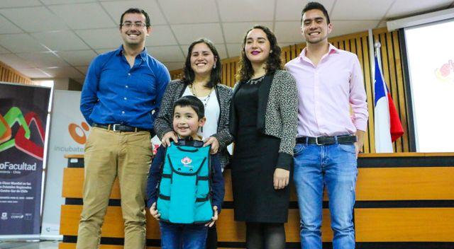 Primer chaleco kinésico, hecho en Chile, para pacientes con problemas respiratorios