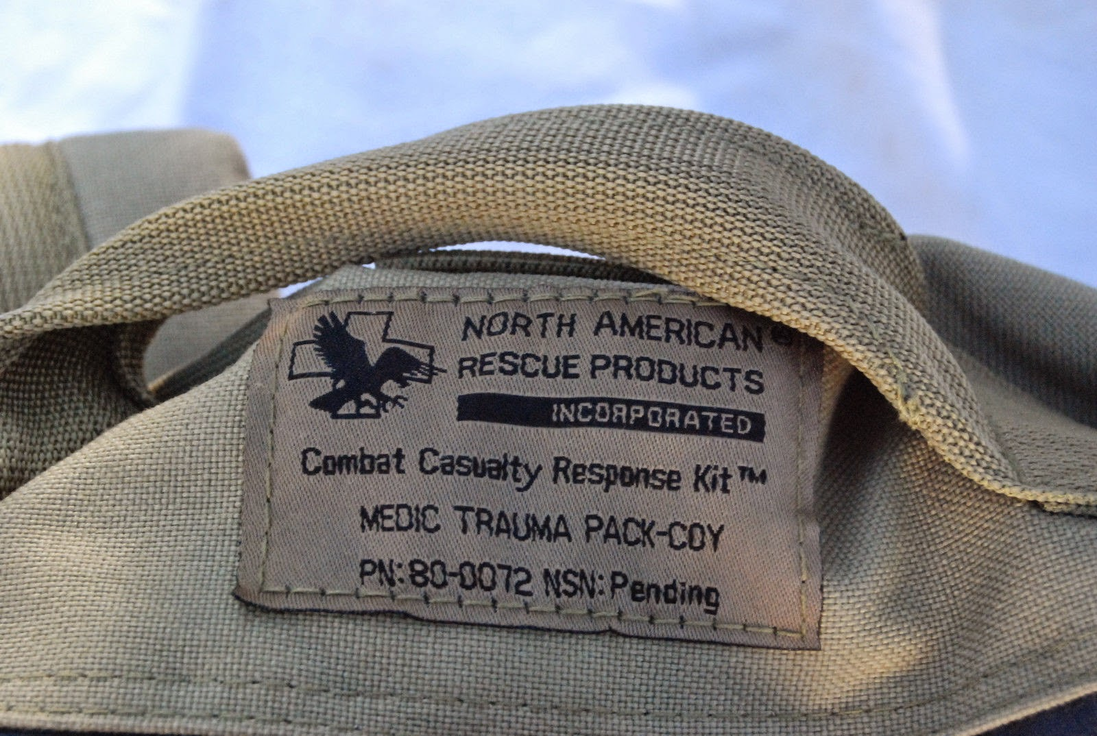 Webbingbabel: North American Rescue (NARP) Medic Trauma Pack