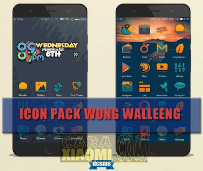 download Icon Pack Theme Material Wong Walleeng For MIUI