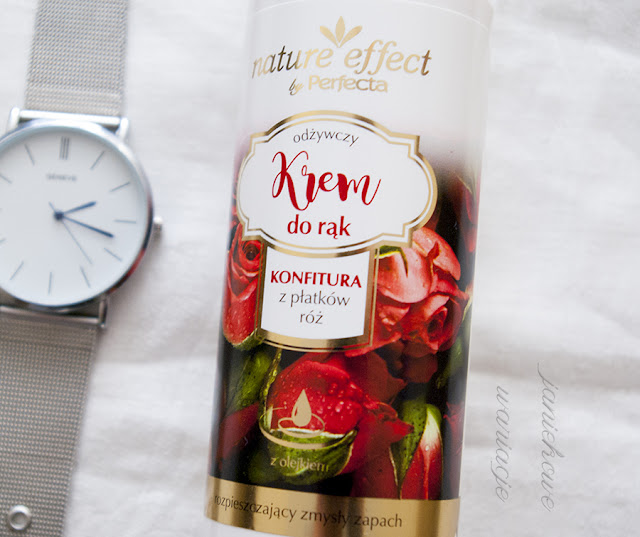 Krem do rąk konfitura z płatków róz