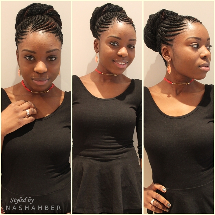 Magnificent Ghana Braids Are Back Nash Amber Hairstyles For Women Draintrainus