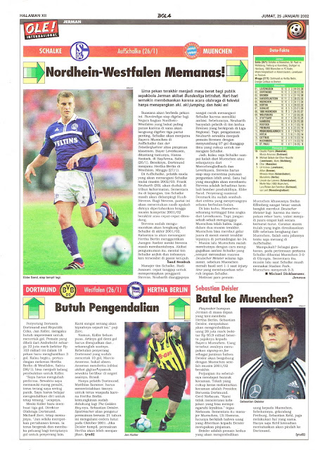 GERMANY BUNDESLIGA NEWS