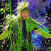 For the Kids Choice Awards: slime shower for Mark Wahlberg