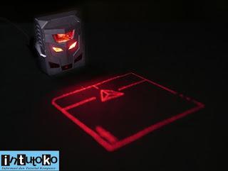 mouse canggih dengan laser proyeksi