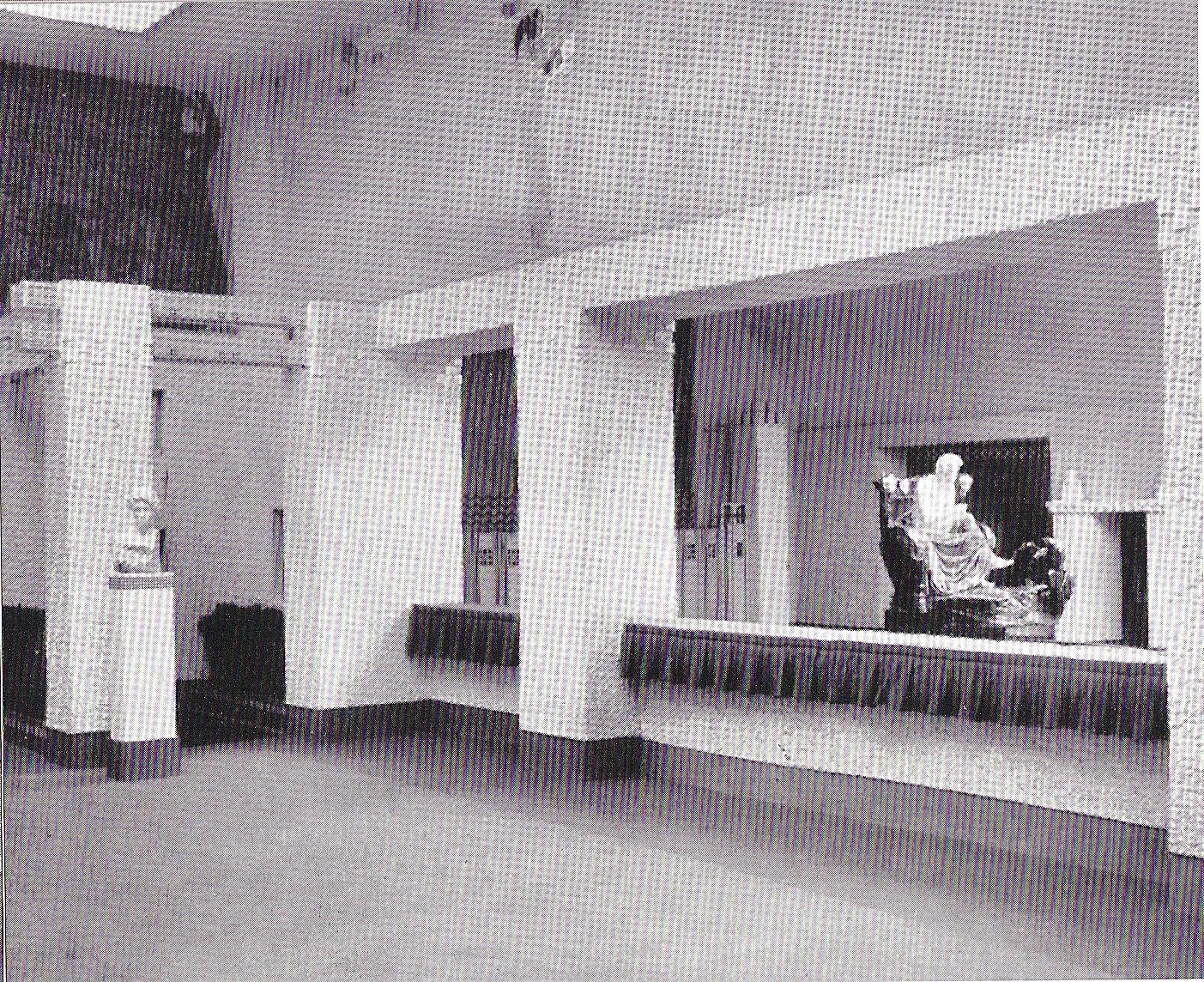 new arrival bba72 e5543 Blick vom linken Seitensaal der XIV. Ausstellung mit dem. Beethovenfries  von Gustav Klimt auf Max Klingers Beethoven