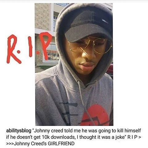Upcoming Artiste, Johnny Creed Commits Suicide