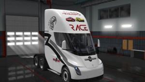 Race & Face Skin Tesla 2019