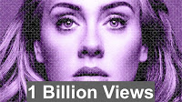 Adele 1 Billion Views image