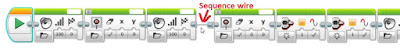 Mindstorms EV3 Sequence wire