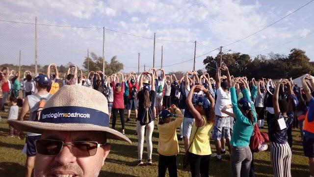 Corumbataí do Sul- Emater e prefeitura realizam a 5ª Caminhada Internacional na Natureza