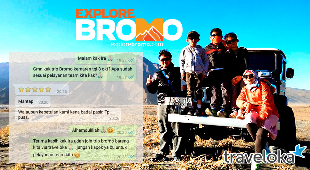open trip bromo midnight adventure