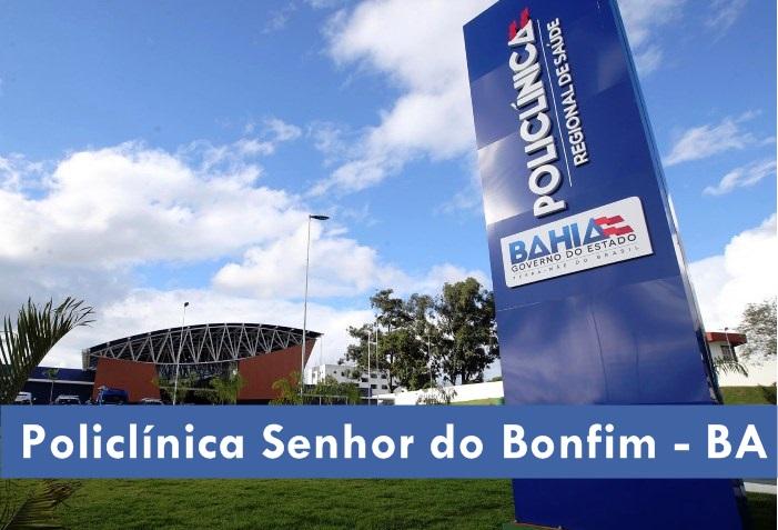 edital Policlínica Senhor do Bonfim - Concurso Público 2019