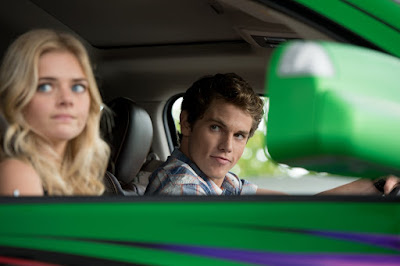 Samara Weaving and Jedidiah Goodacre in Monster Trucks (46)