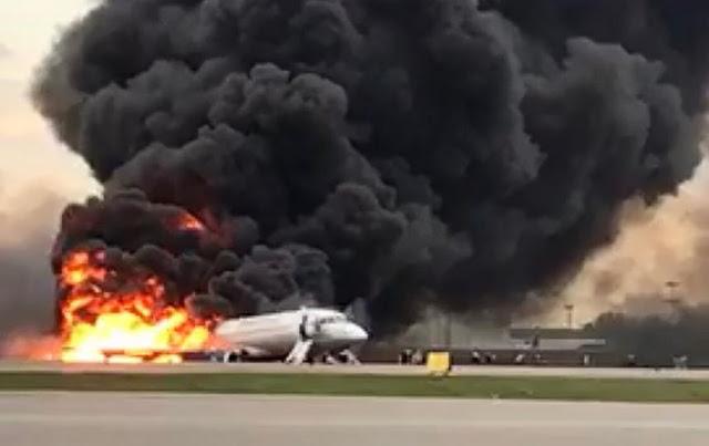 Пожар на борту Москва-Мурманск в Шереметьево! 13 погибших...ВИДЕО