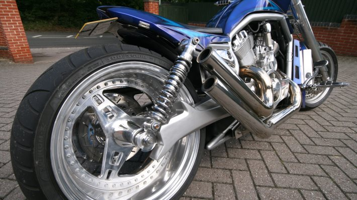 Wallpaper 2: Motorbike