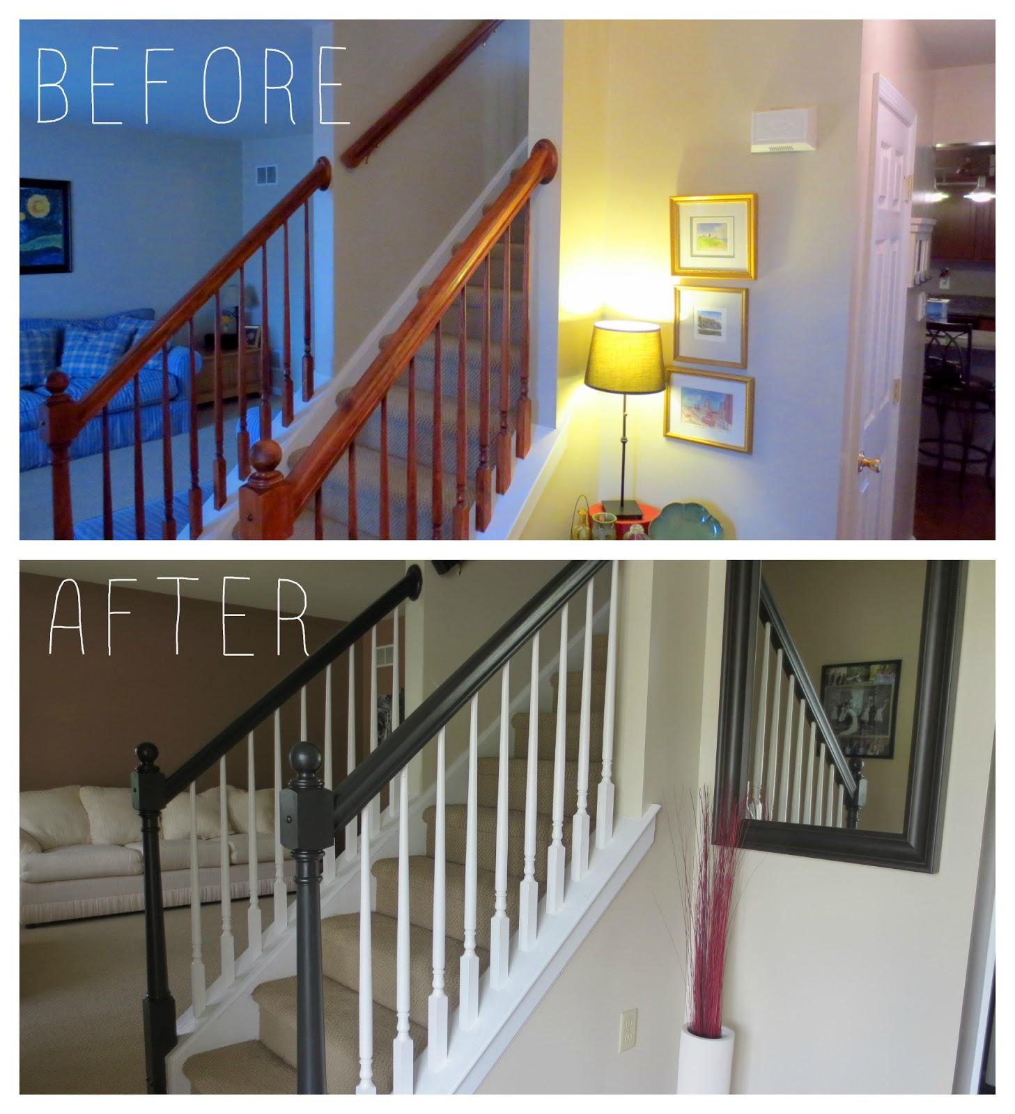 Interior Shareapy: Stairway Transformation