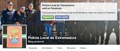 Facebook Policía Local