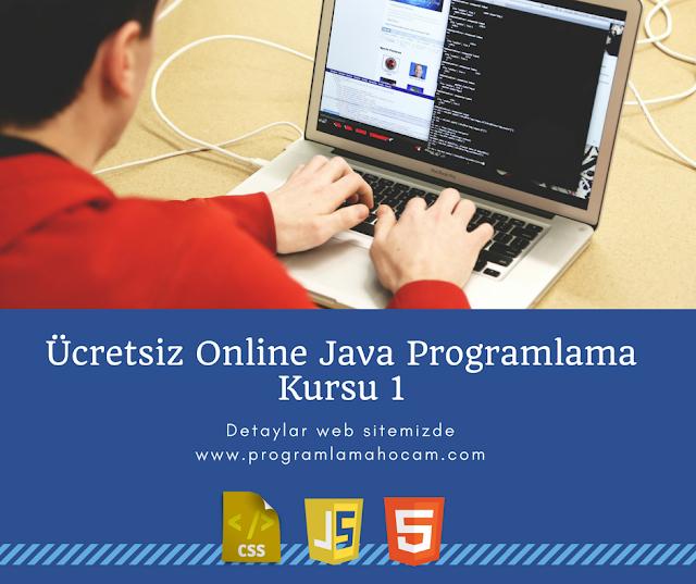online ücretsiz java programlama kursu