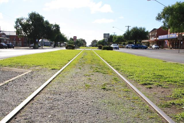 Wycheproof railway track