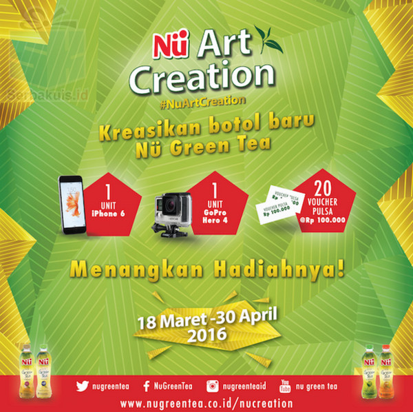 Kontes Nu Art Creation Berhadiah iPhone 6s & GoPro Hero 4