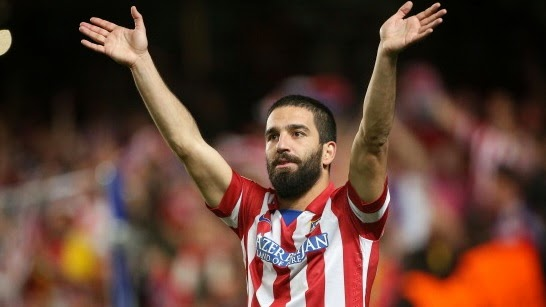 Atletico Madrid's Arda Turan want Premier League move