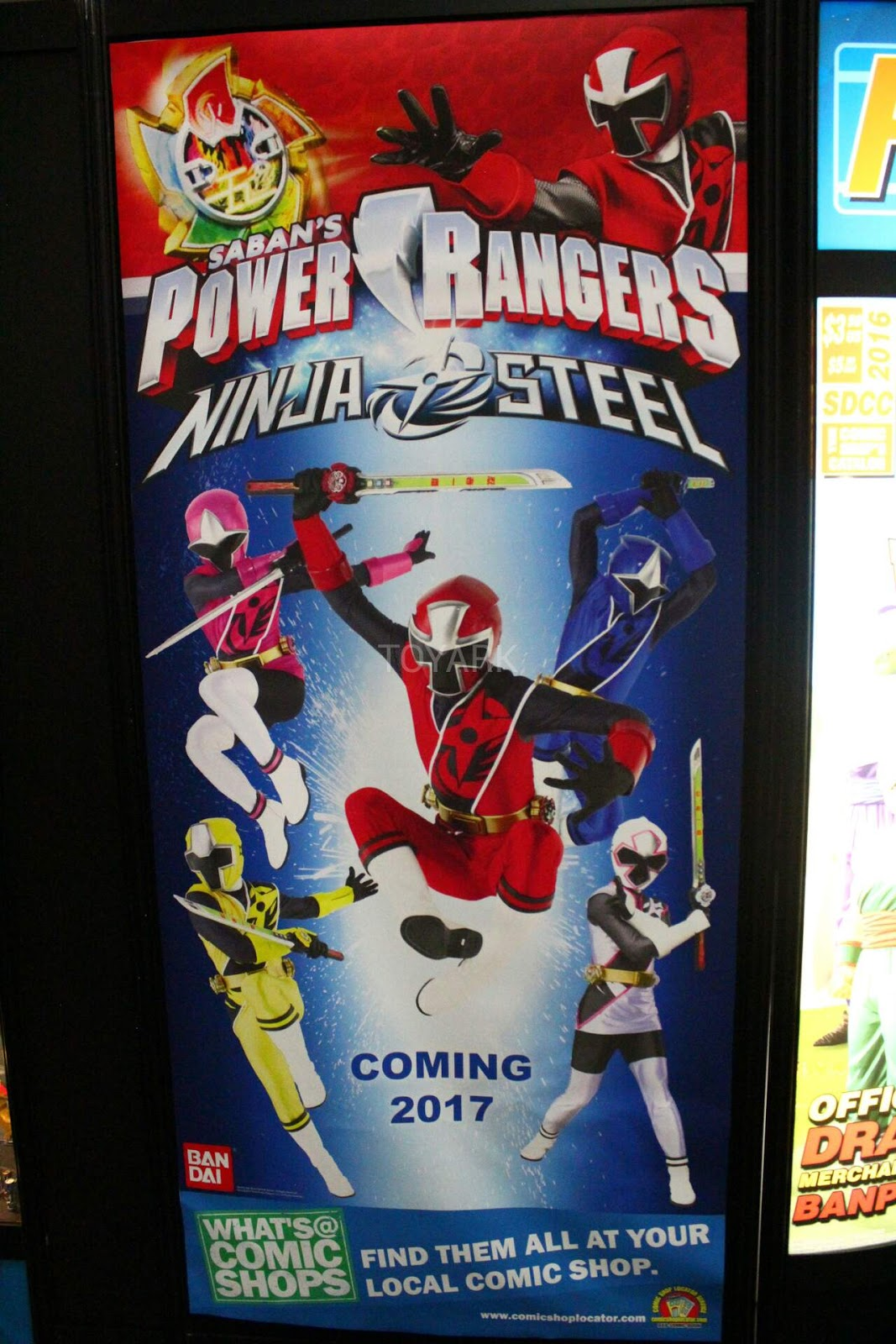 Power rangers ninja steel official promo poster unveiled jefusion buycottarizona