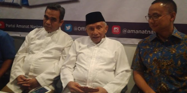 Kritik Revolusi Mental Jokowi, Amien Rais Ingin Ganti dengan Revolusi Moral
