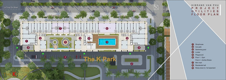 Hệ thống tiện ích dự án The K Park Văn Phú