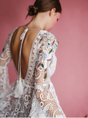 abito sposa pizzo scollatura schiena yoliah