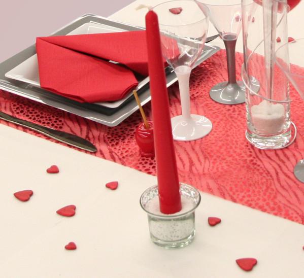 Consigli per la casa e l 39 arredamento san valentino idee per apparecchiare una tavola - Idee cena romantica a casa ...