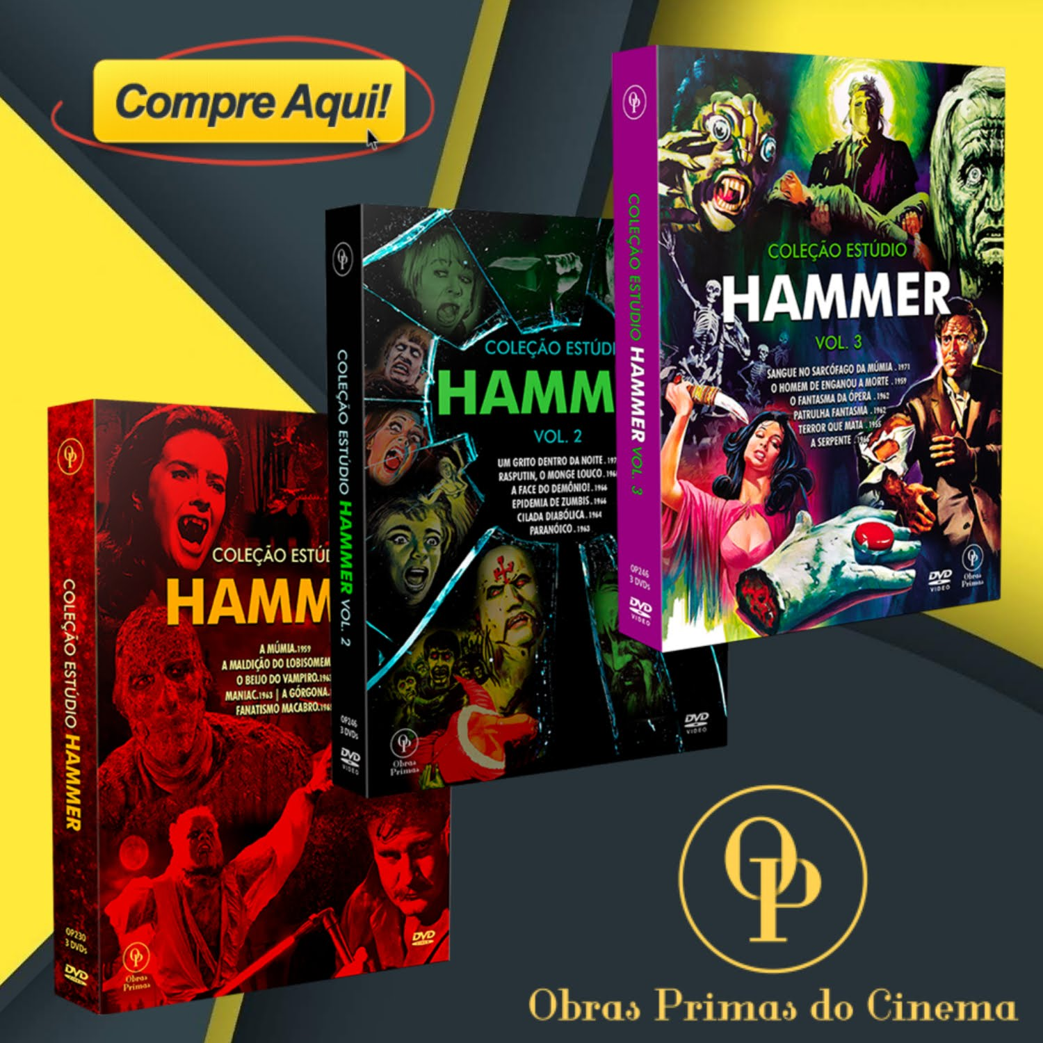 OBRAS PRIMAS DO CINEMA
