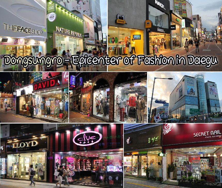 Fun Amp Free Daegu Travel Shopping Spree In Dongsungro