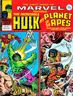 Mighty World of Marvel #217, Hulk, Planet of the Apes