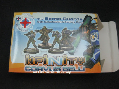 Mi caja de scot guards