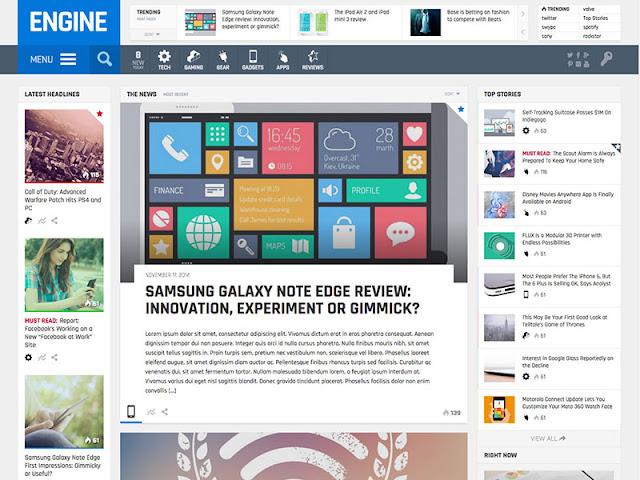 GSMArena Clone Engine WordPress Theme Download